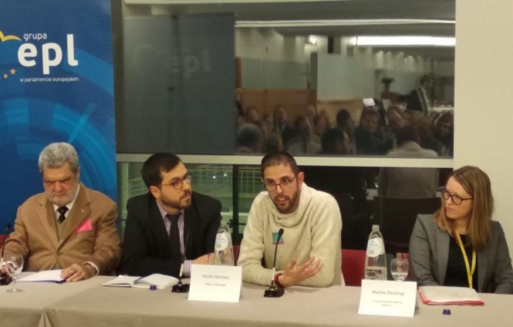 Adolfo Barroso durante su ponencia